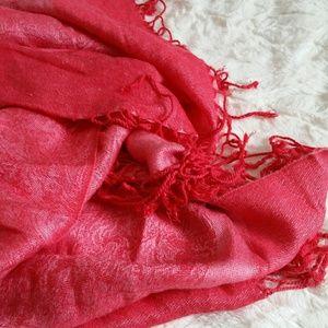 DESIRE Hot Pink Pashmina